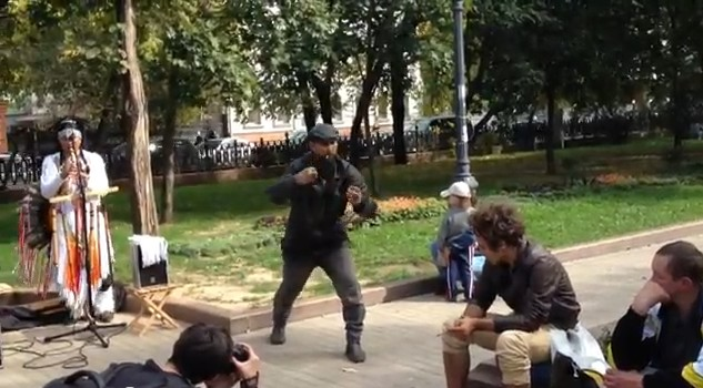 Hobo Break Dancer