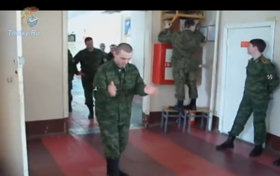 Dance Battle in the Army