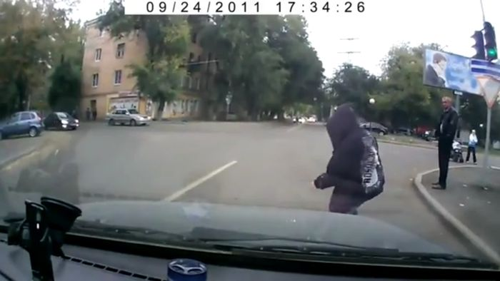 Bumper Crime In Russia