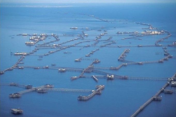 The City For Oilmen Right On the Sea