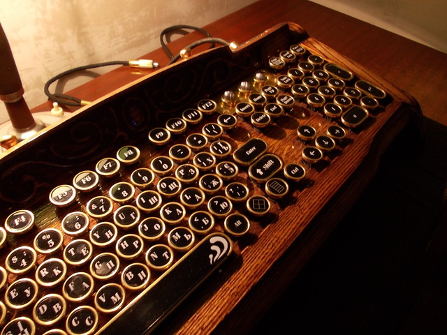Cool Steampunk Keyboard