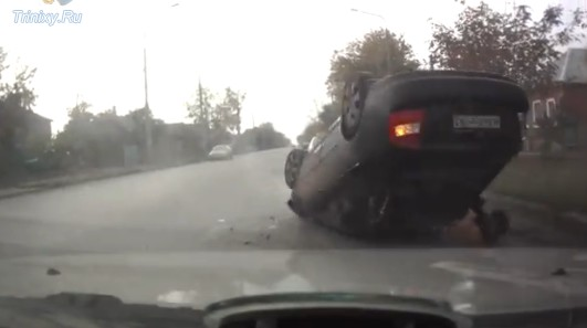Unusual Way to Get Out of the Car