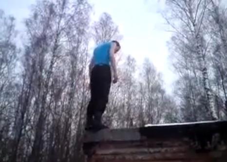 Video: Unlucky Stuntman