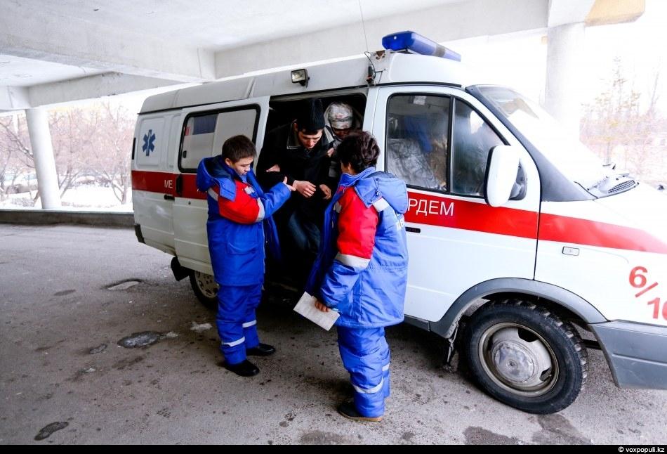 Kazakhstan Ambulance