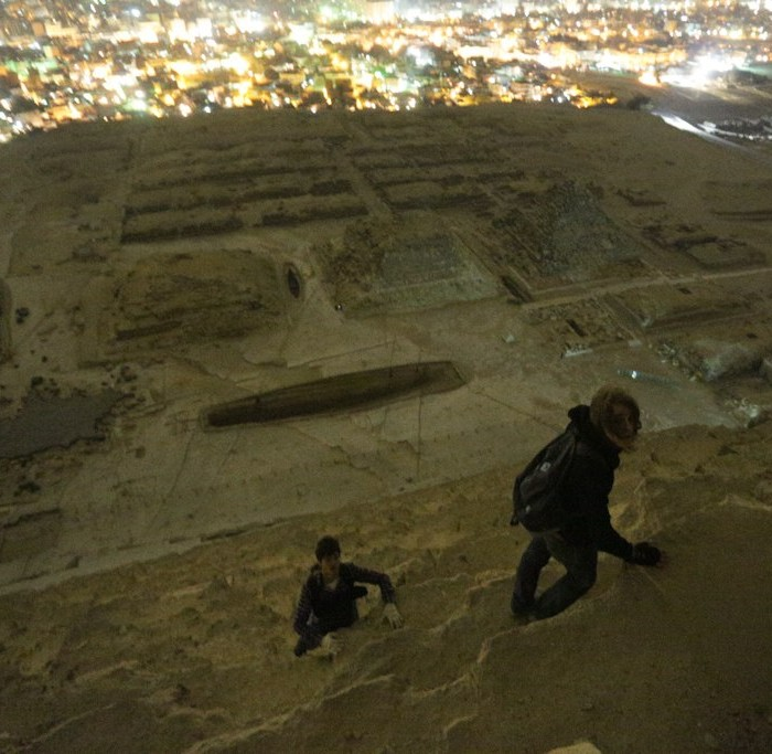 On Top of the Pyramide