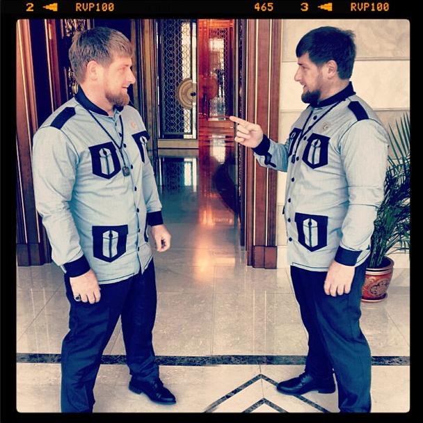 Ramzan Kadyrov Twins