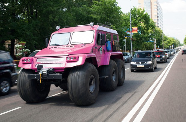 Pink All Terrain Vehicle For the Girl