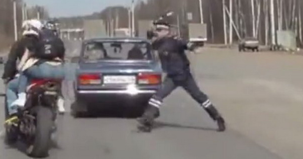 Escaping From Road Police