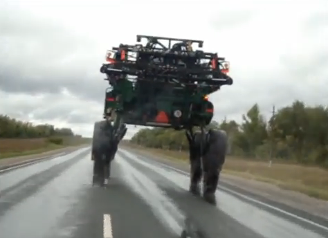 Meanwhile On a Russian Road