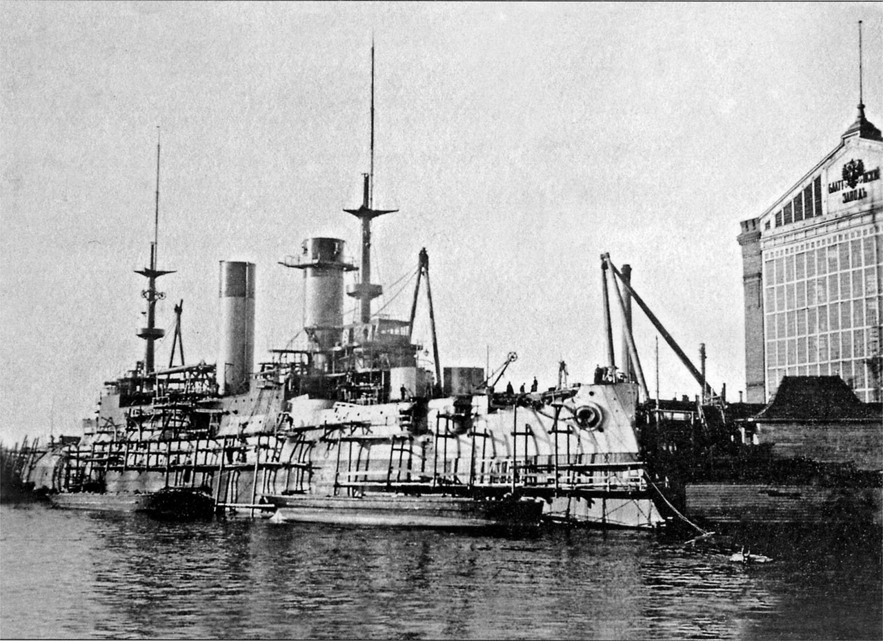 Battleship Prince Suvorov