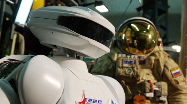 Russian Space Robot