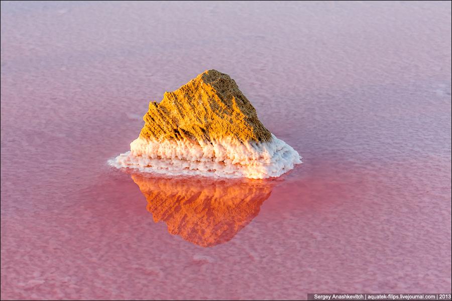 The stone icebergs of the Eastern Crimea