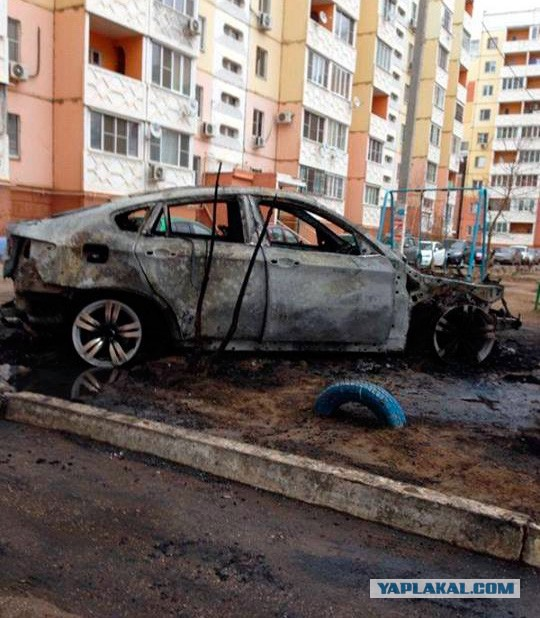 People Just go and Burn Down BMW X6