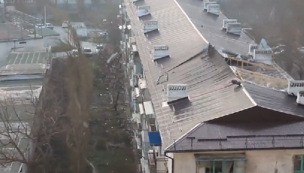 Strong Winds in Southern Russia