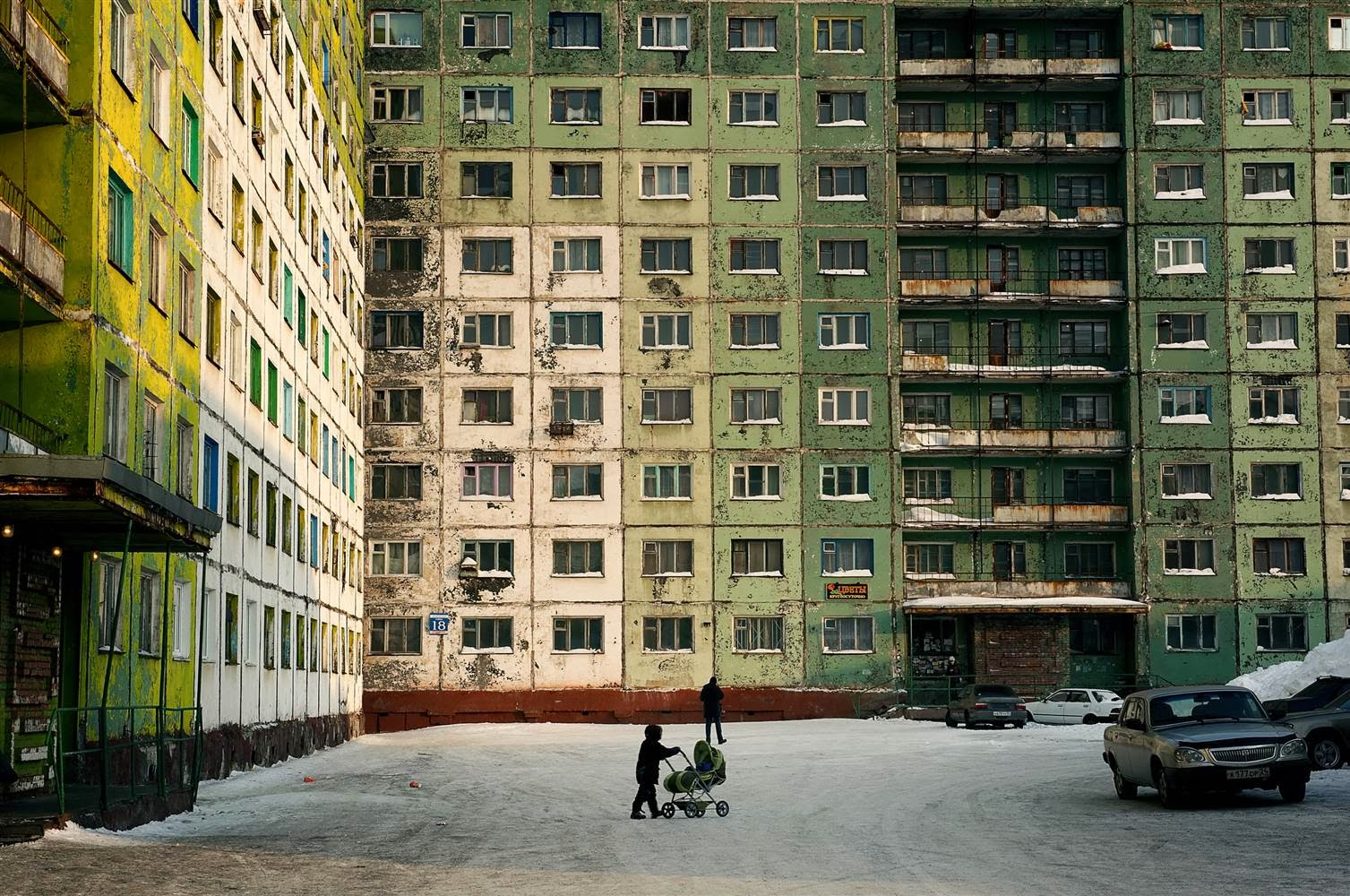 Norilsk: the City of Strong Winds and Polar Nights