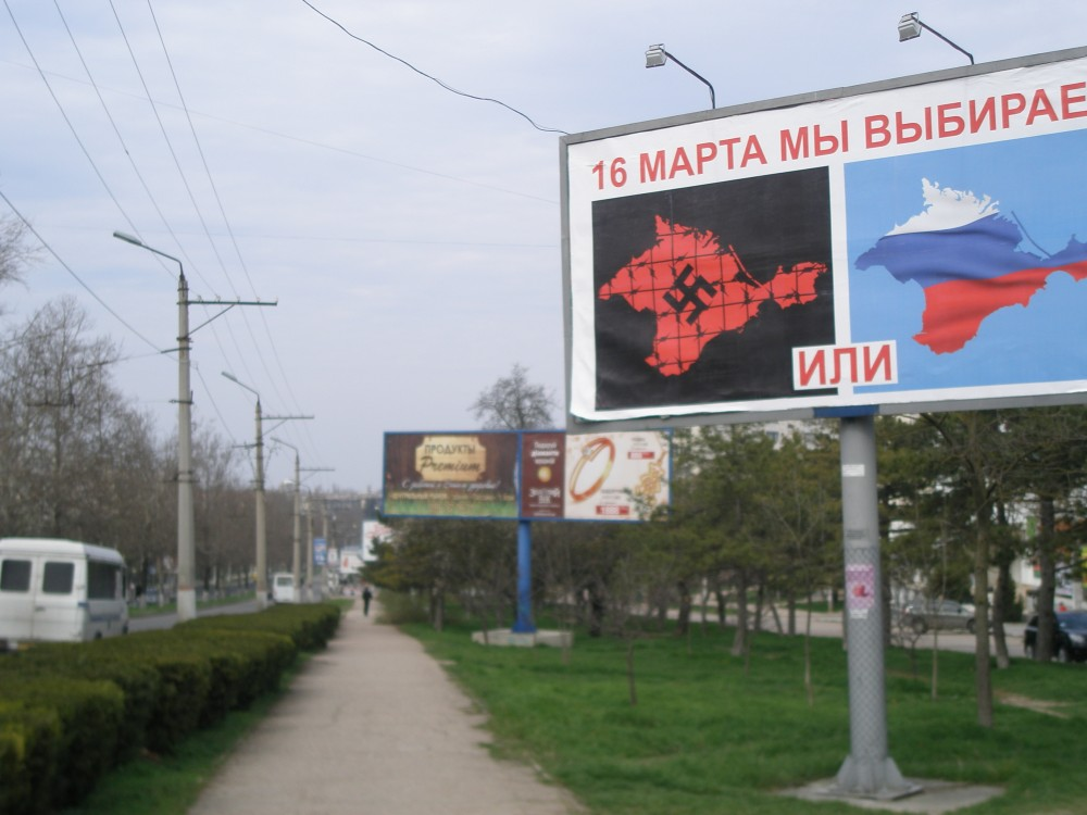 Crimea, One Day before the Event