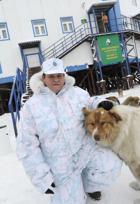 New Polar Climate Uniform For the Arctic Boardguards