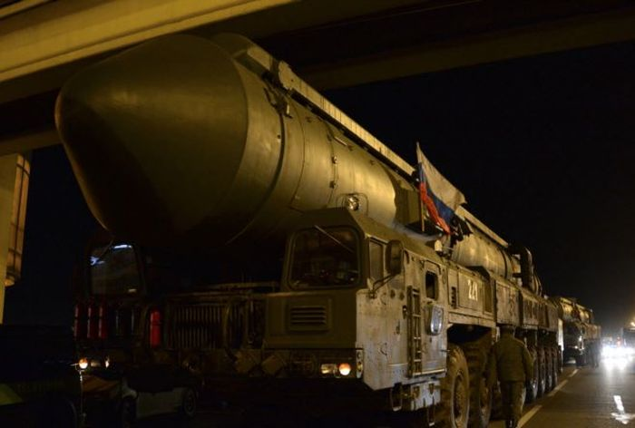Topol Missile Has Been Launched