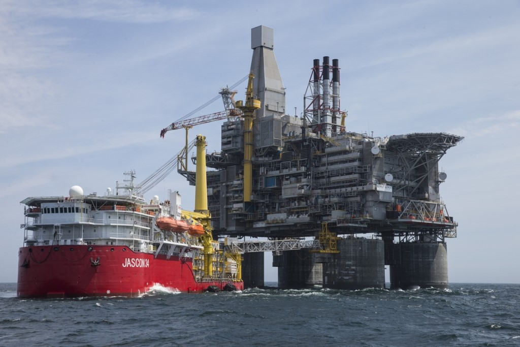 """The Pacific """"Berkut"""" Oil Rig is the Biggest One"""