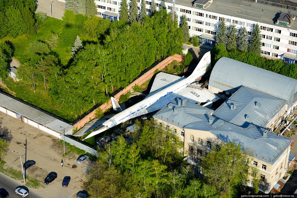 Hidden Tu-144 in Kazan Outskirts
