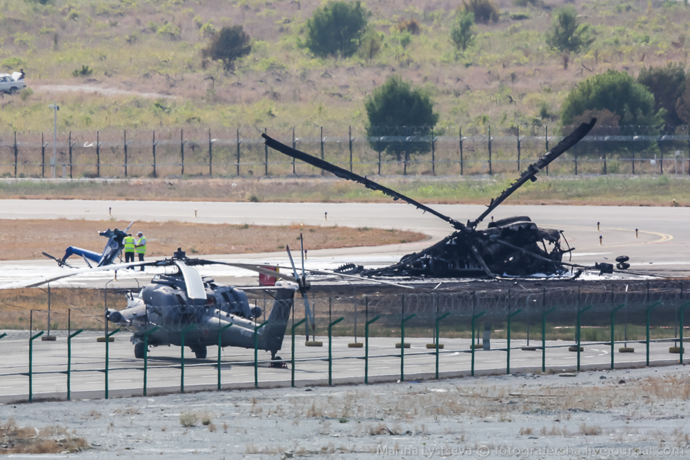 Mi Helicopter Crashes near the Black Sea