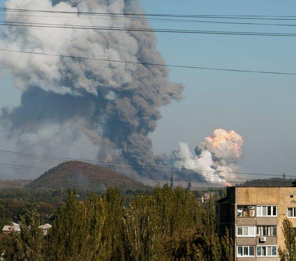 Nuclear Explosions in Donetsk Today
