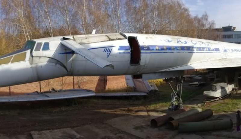 Tu-144 CCCP-77107
