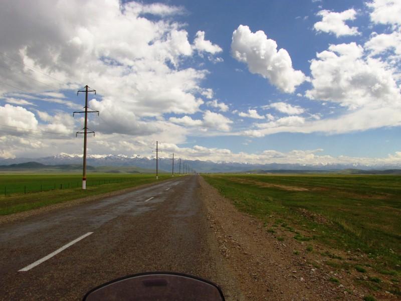 Kegen, road to Kyrgyzstan