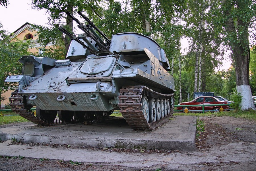 Tanks on Russian Children Playgrounds