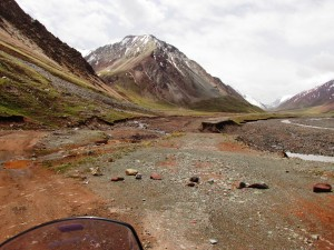 Entering the Pamir