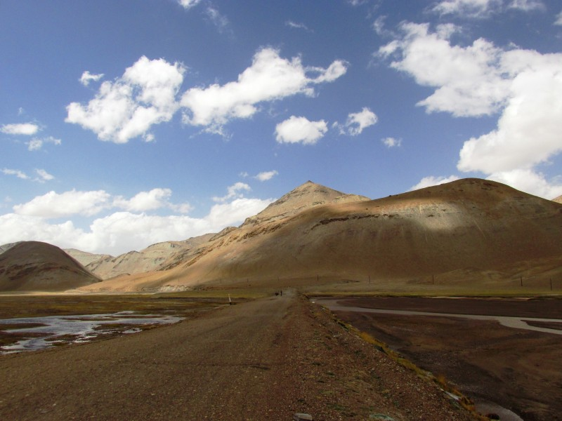 Pamir, road o Murgab