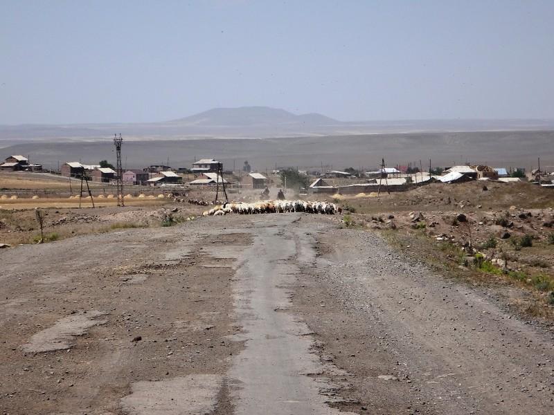 Road to Ani, Armenia