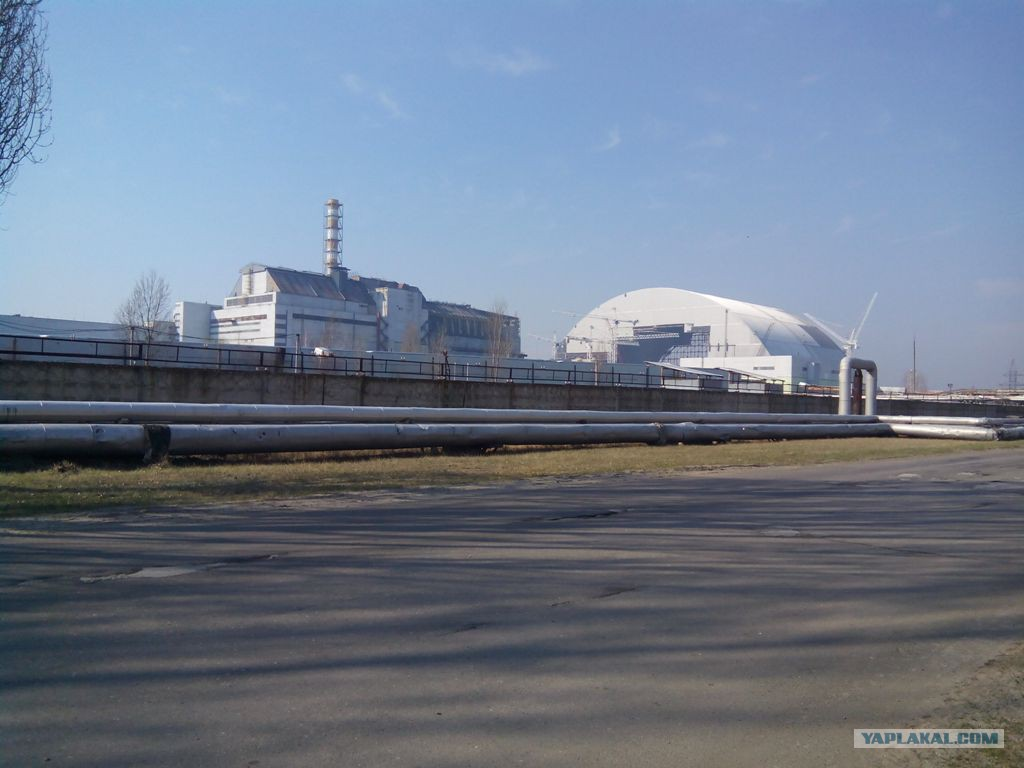 Giant Arch Constructed at the Chernobyl NPP