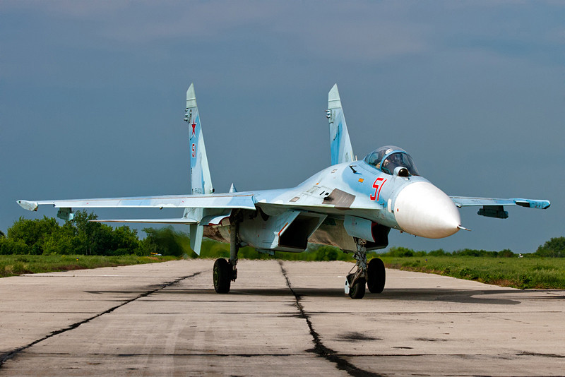 New Modifications to the Su 27 Fighter
