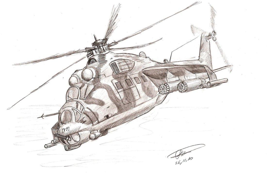 рисунки вертолетов карандашом военные какому номеру телефона