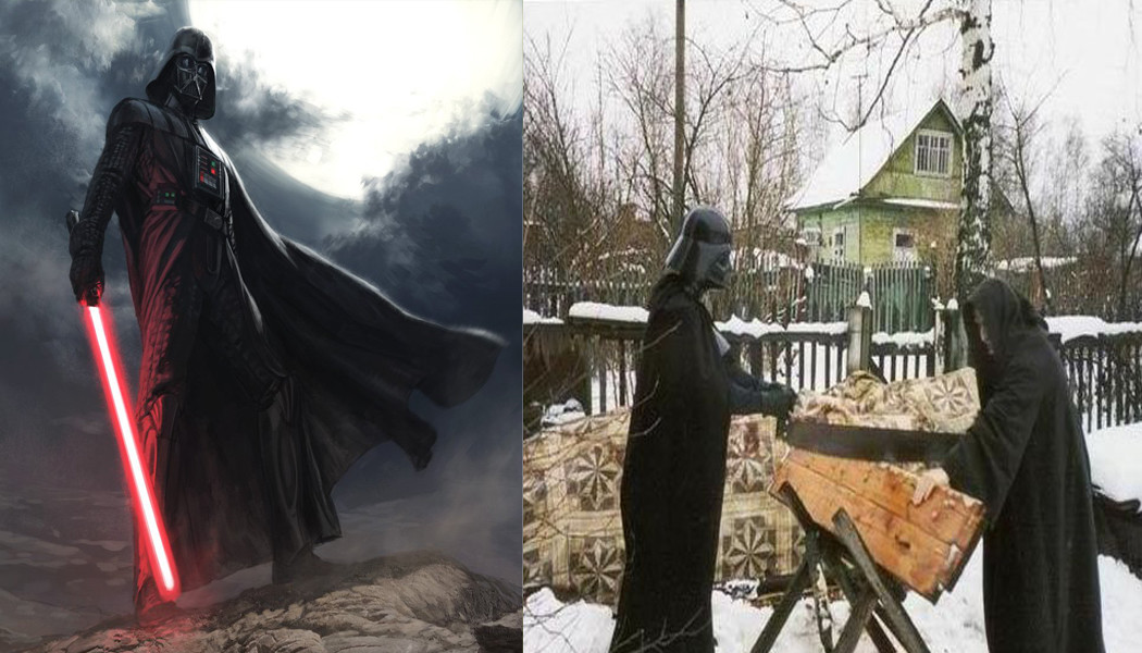Russian Lookalikes of their Western Counterparts
