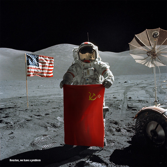 USSR vs US on the moon