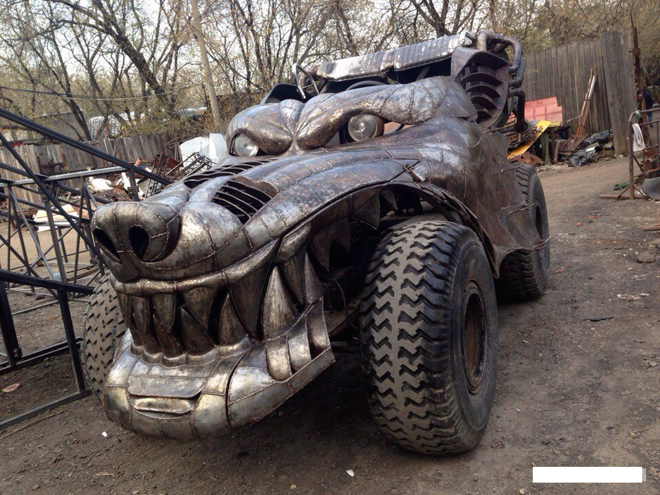 Wolfen Dragon Car