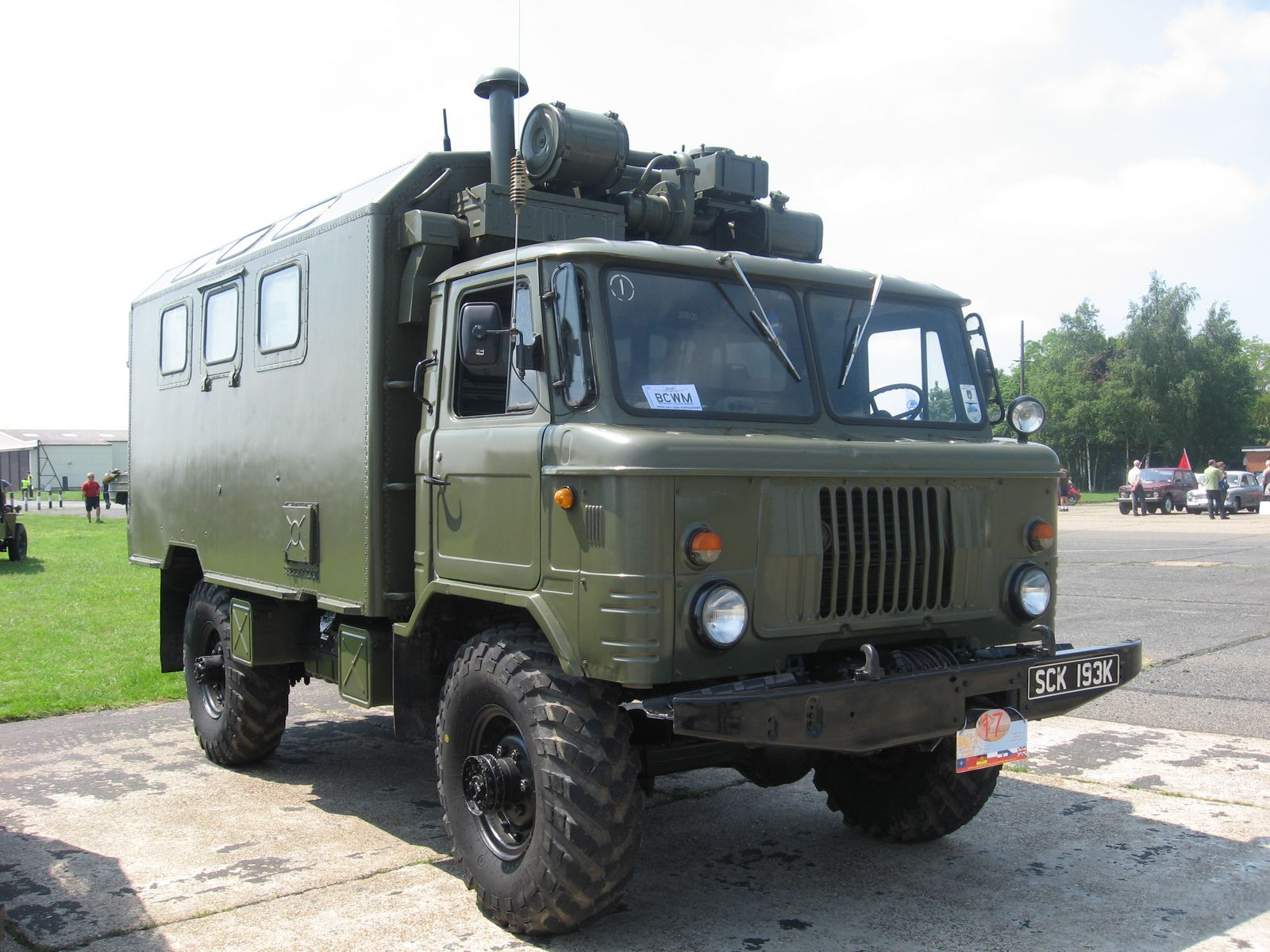 Giant Russian SUV Converted from an Army Truck