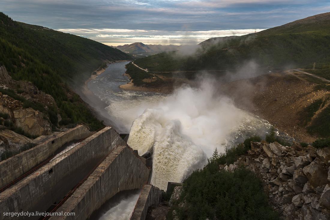 Russia's Big Hydro Power Plant in Kolyma
