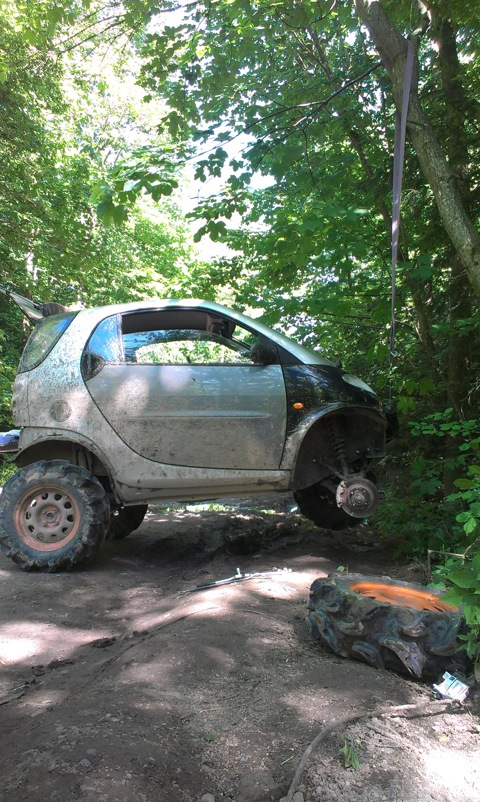 Crazier That You May Have Imagined: Offroad Smart Fortwo Car ...