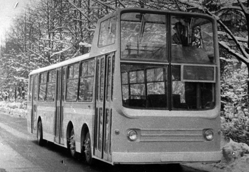 Most Unusual Buses of the Soviet Time