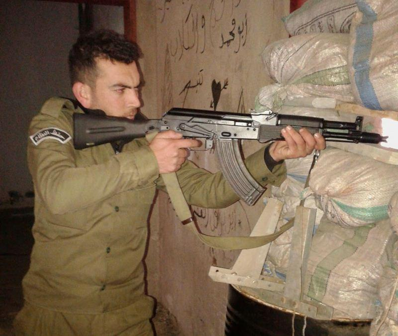 Modern Russian Weapons And Ammunition At Syrian War