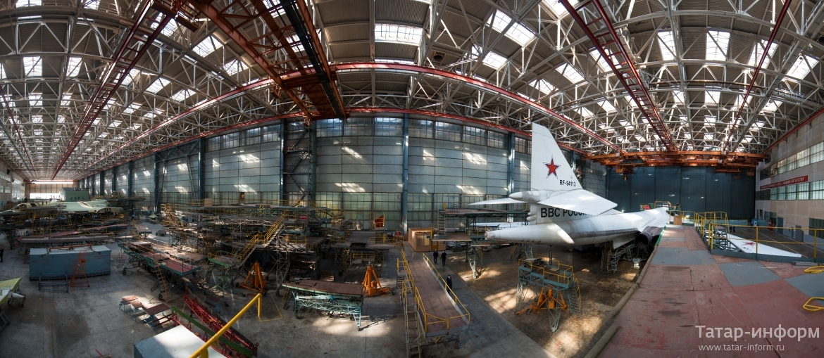 Awesome Russian Tu-160 Planes in the Making!