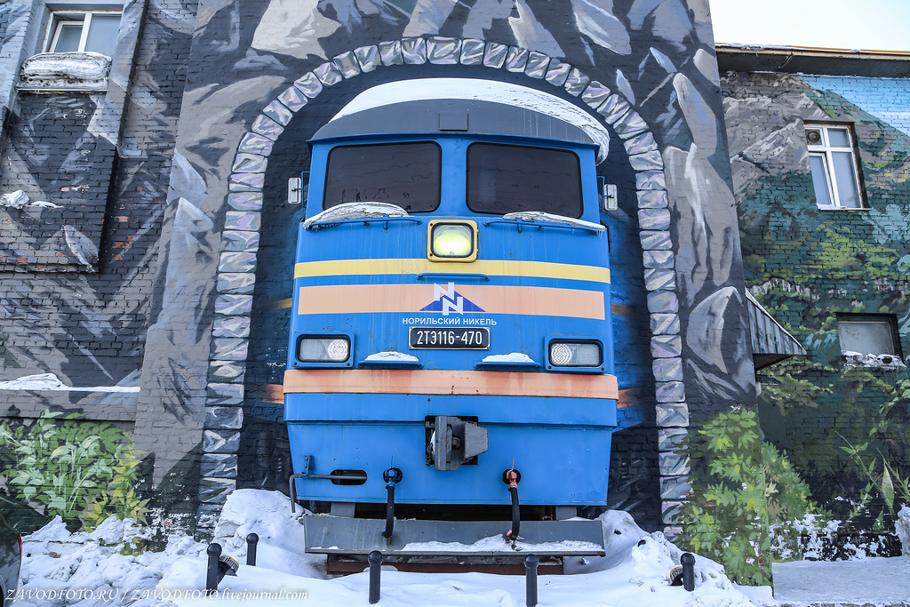 The Most Northern Railway