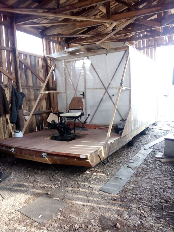 Man Builds Bicycle Powered Mobile Home, Travels Across Siberia
