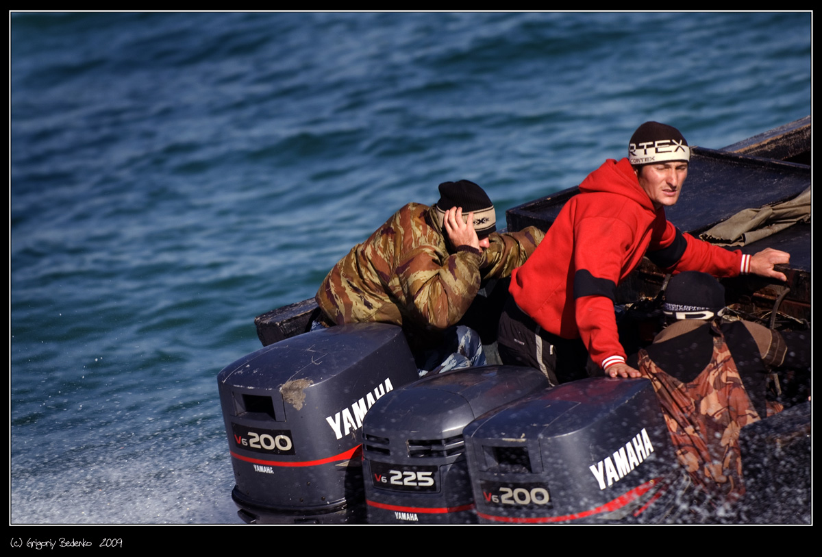 пограничная лодка мастер 651