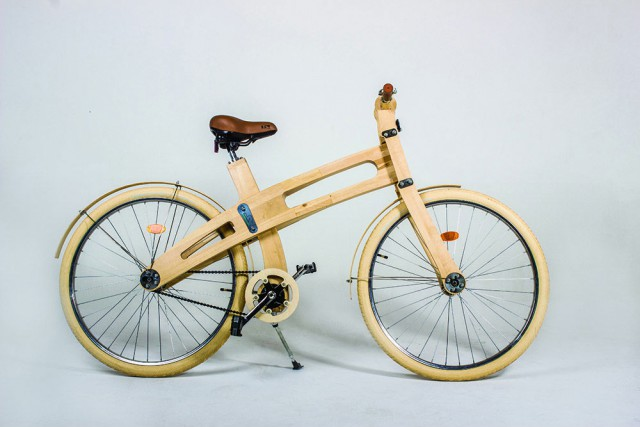 Belarussian Company Started to Make Wooden Bicycles