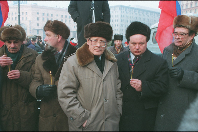 Demonstration Against the War in Chechnya