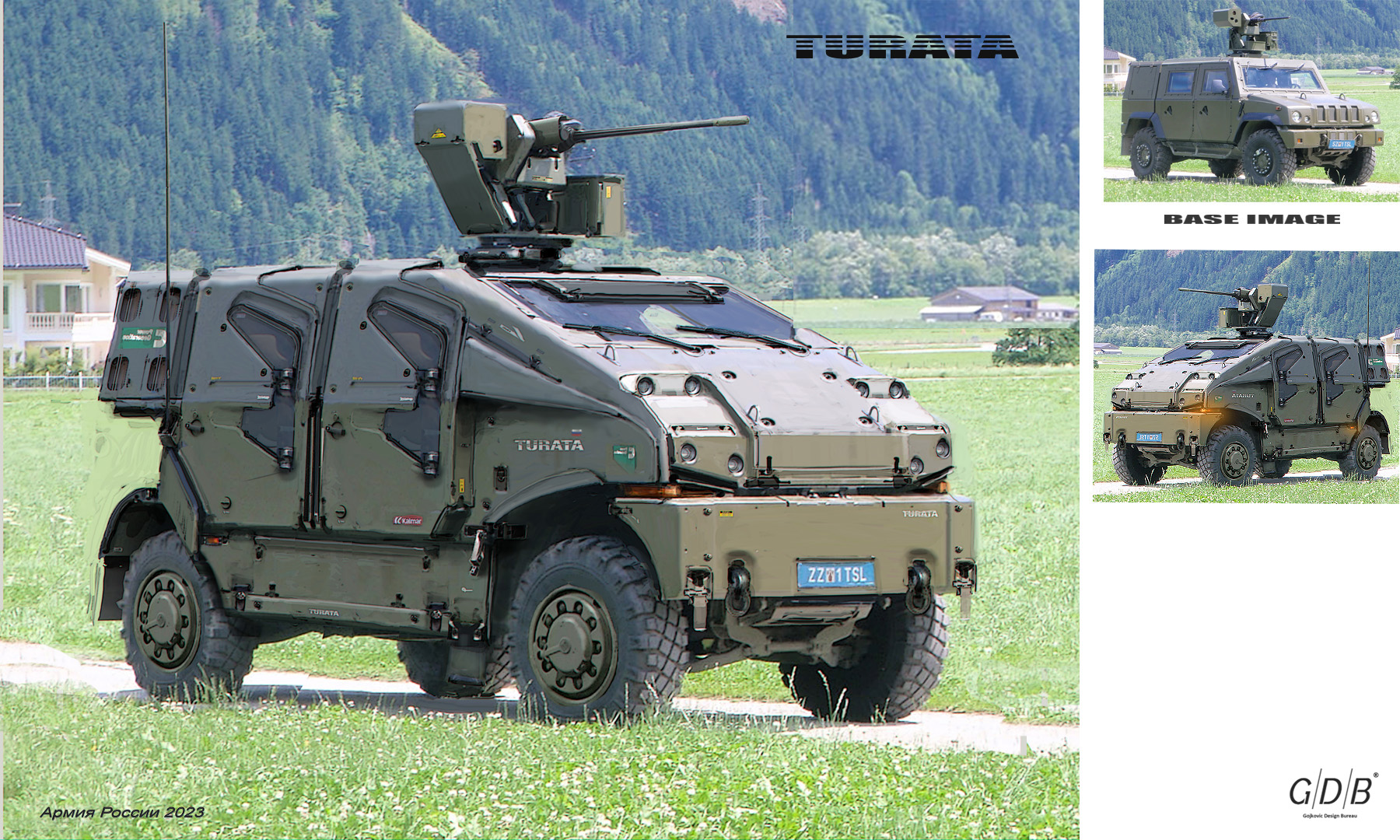 Russian military vehicles of the year 2023